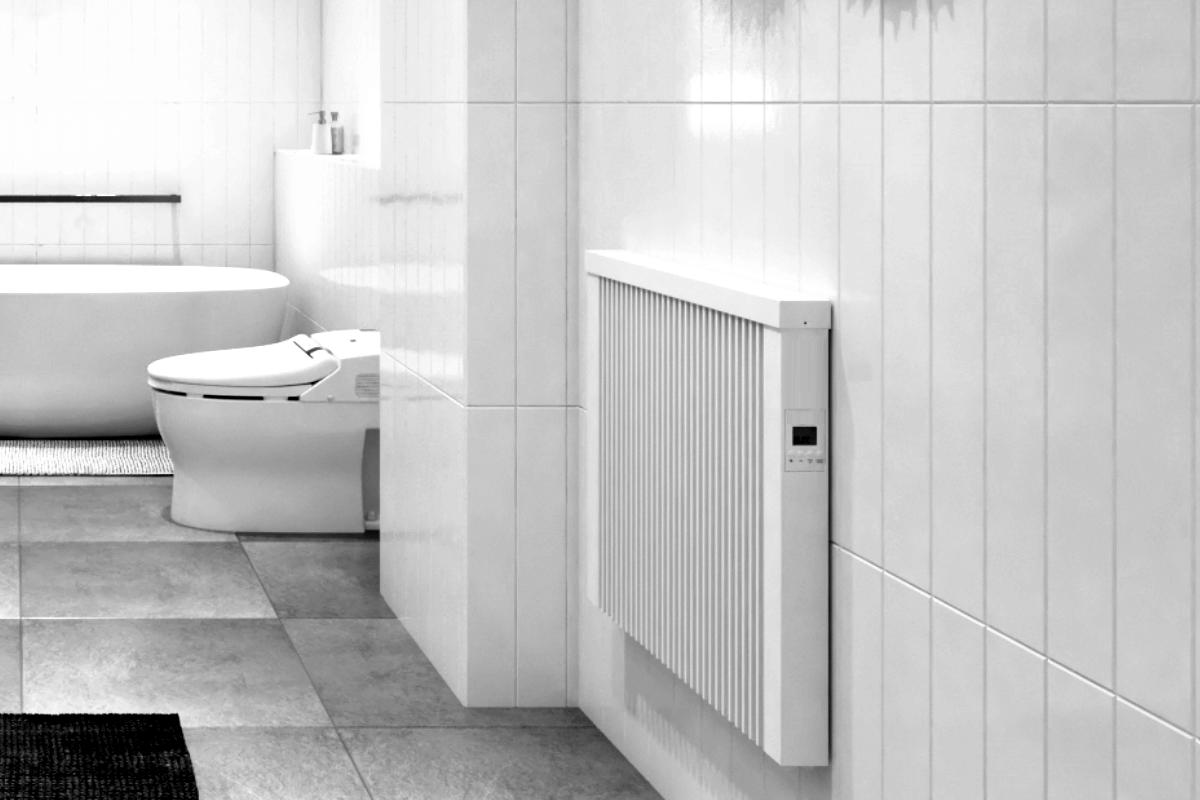 Baheizung areo bano im Badezimmer