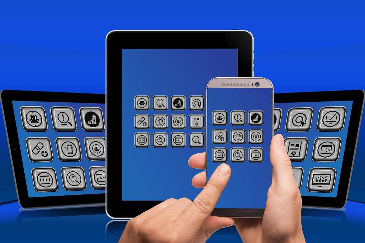 Smartphone Tablet Appsteuerung