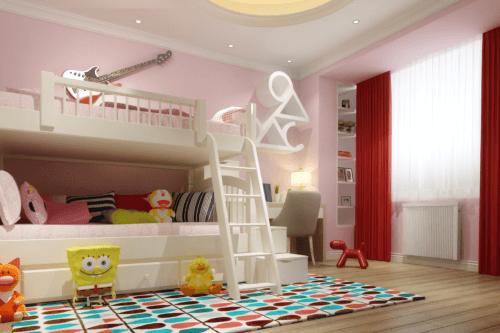 Flächenspeicherheizung im Kinderzimmer