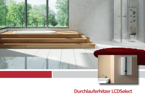 Comfort-Durchlauferhitzer CDE