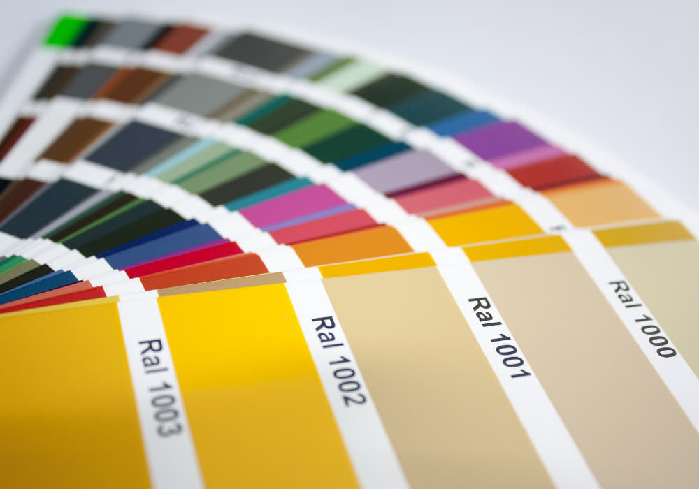 Farbige Elektroheizung in RAL Farben