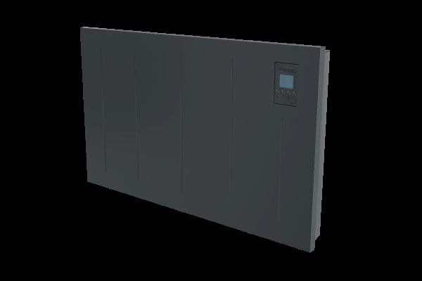 Wandkonvektor VPNi DSM mit DSM Thermostat von Technotherm 750 mm Breite Schrägansicht