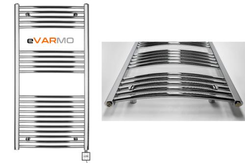 eVARMO Handtuchtrockner Hatro KTX3 chrom