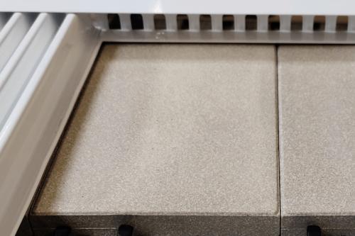 Speichersteine der Flächenspeicherheizung areo smart