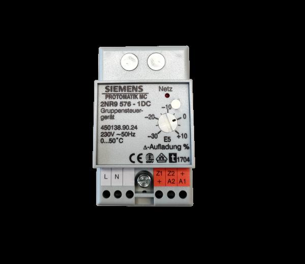 Siemens PROTOMATIK MC 2NR9 576-1 / Dimplex GR 90 Gruppensteuergerät für Speicherheizgeräte