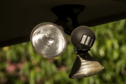 Lampe mit Bewegungsmelder