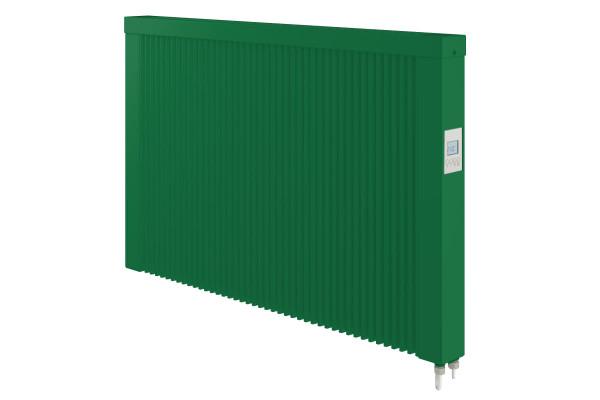grüne 1500 Watt Teilspeicherheizung mit optionaler WLAN-Steuerung von Technotherm