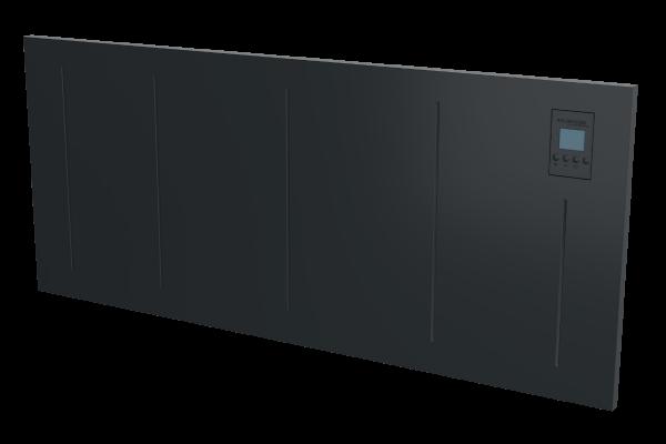 Wandkonvektor VPNi DSM mit DSM Thermostat von Technotherm 1050 mm Breite Schrägansicht