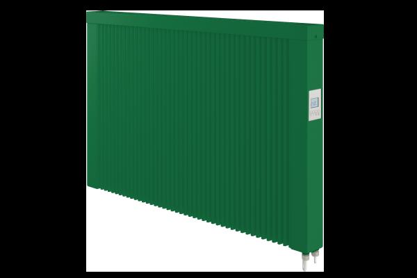 grüne 1500 Watt Teilspeicherheizung von Technotherm mit optionaler WLAN-Steuerung