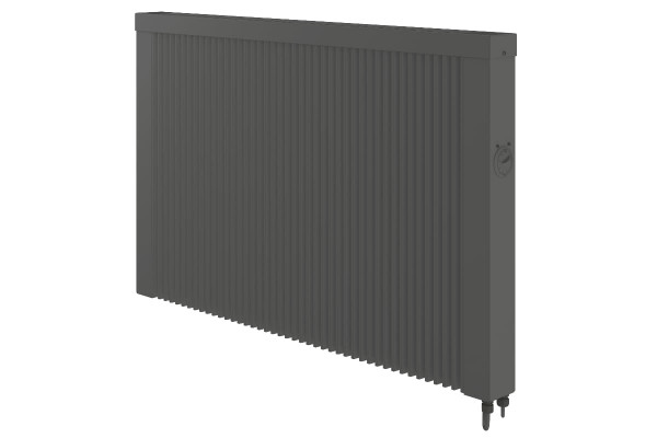 Mobile 2000 Watt Teilspeicherheizung in anthrazit mit E4 Thermostat
