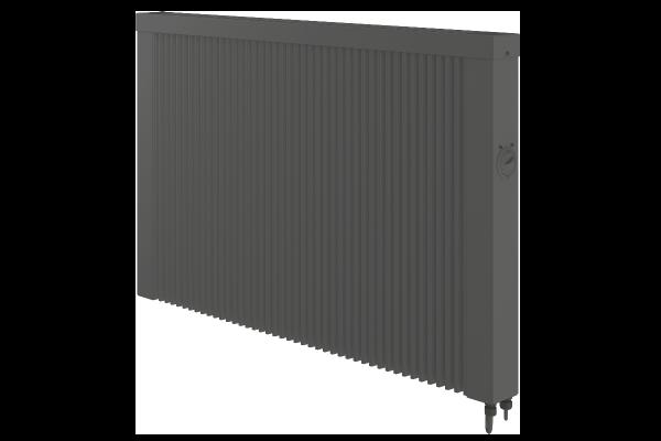 Mobile 1500 Watt Teilspeicherheizung in anthrazit mit E4-Thermostat von Technotherm