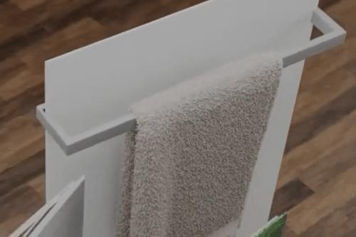 Handtuchhalter infraNOMIC Slim-Line