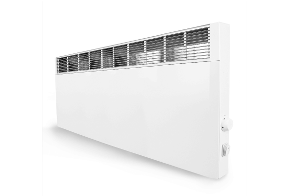 Technotherm Mobiler Konvektor CVSi E mit elektr. Raumtemperaturregelung 2400 Watt Schrägansicht
