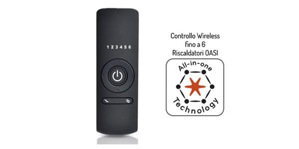 Remote Control für Infrarot Terrassenstrahler Desino TS von Technotherm