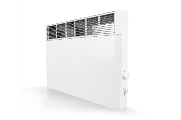 Technotherm Mobiler Konvektor CVSi E mit elektr. Raumtemperaturregelung 1500 Watt Schrägansicht