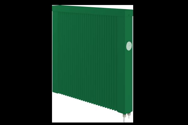 grüne mobile 1000 Watt Teilspeicherheizunge mit E4 Thermostat