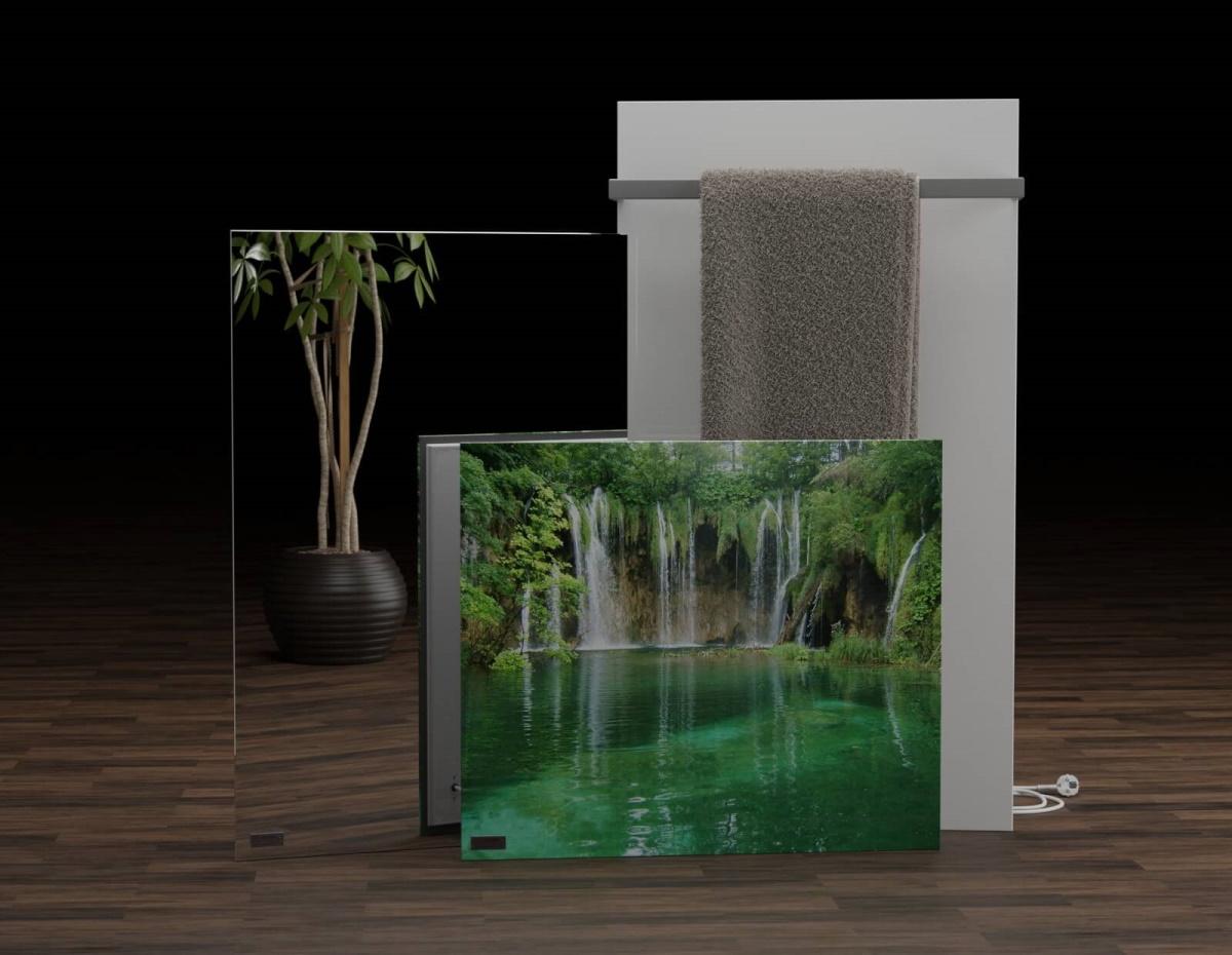 Glas-Infrarotheizungen