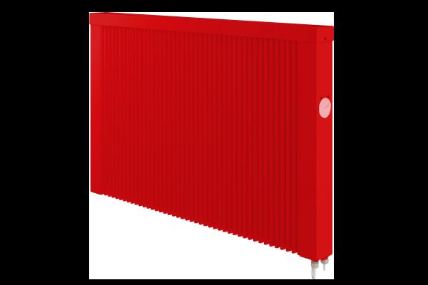 rote mobile 1500 Watt Teilspeicherheizung mit E4 Thermostat