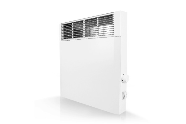 Mobiler Konvektor CPHi E mit elektr. Raumtemperaturregelung 1000 Watt Schrägansicht