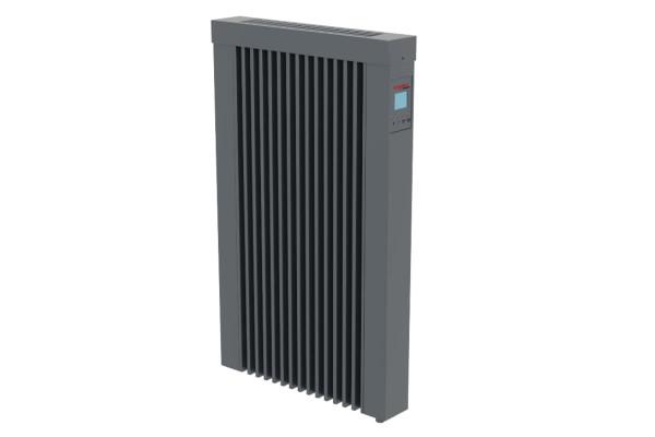 Kombiheizung CHMi DSM 500 bis 2000 Watt anthrazit - Flächenspeicherheizung mit DSM Thermostat von Te