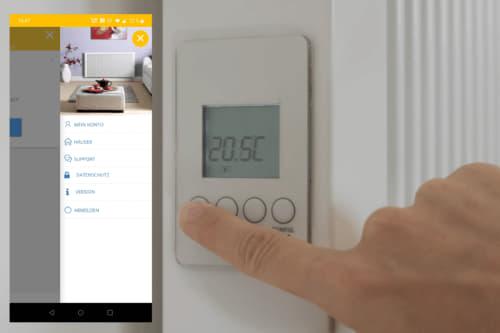 """eVARMO Flächenspeicherheizung """"areo smart"""" - per App steuerbare Teilspeicherheizung"""
