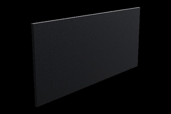 schmale Infrarotheizung ISP-Bi schwarz (400mm Höhe)