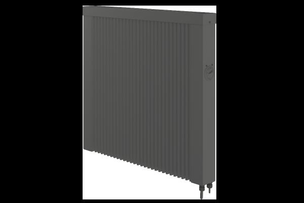 Mobile 1000 Watt Teilspeicherheizung in anthrazit mit E4 Thermostat