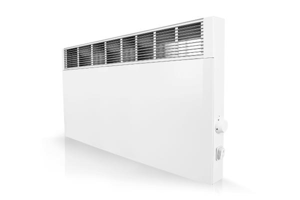 Mobiler Konvektor CPHi E mit elektr. Raumtemperaturregelung 2000 Watt Schrägansicht