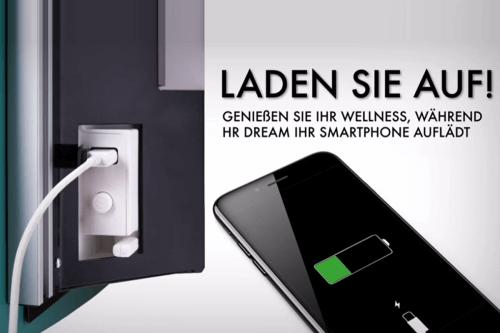 HRi Dream Badheizung USB Anschluss