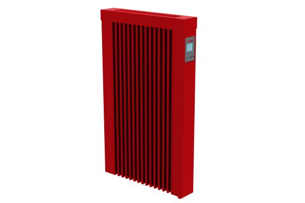rote 500 Watt Teilspeicherheizung mit optionaler WLAN-Steuerung