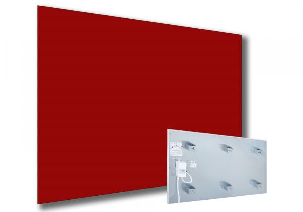 Infrarotstrahlungpaneel ISP-Ri rot (600mm) mit Funkempfänger RF von Technotherm