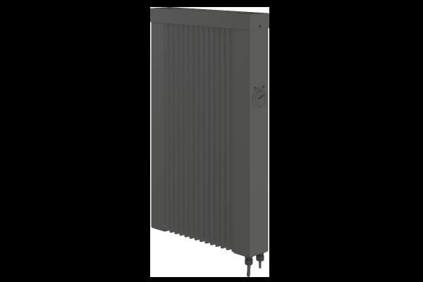 Mobile 500 Watt Teilspeicherheizung in anthrazit mit E4-Thermostat